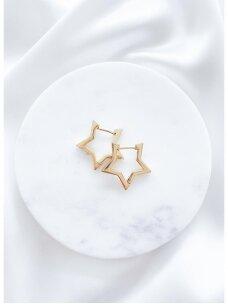 Žvaigždės formos auskariukai